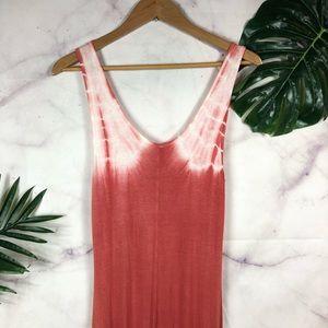 Olivia Dresses - OLIVIA Tie Dye High Low Maxi Dress Medium